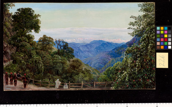226. View of the Himalaya Mountains from Mussooree.. © RBG KEW