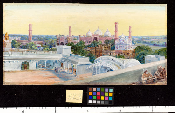 323. Mosque of Lahore from the Palace.. © RBG KEW