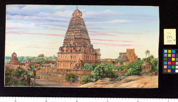331. Temple of Tanjore, Southern India.. © RBG KEW