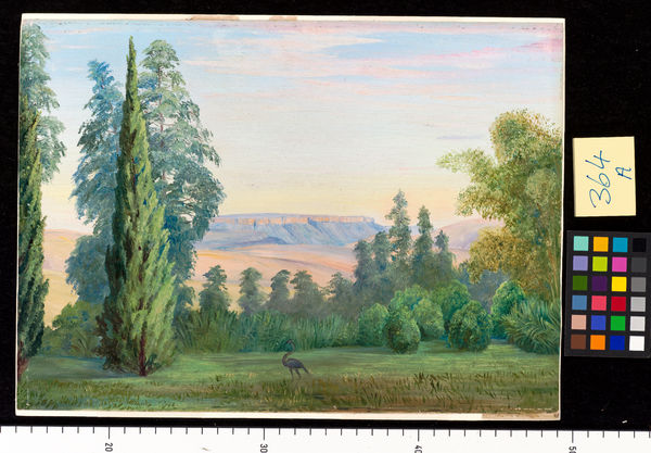 364. View of a Table Mountain from Bishop Colenso's House, Natal. © RBG KEW
