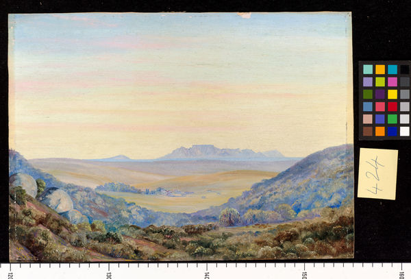 424. View of Table Mountain, looking from Groat Post.. © RBG KEW