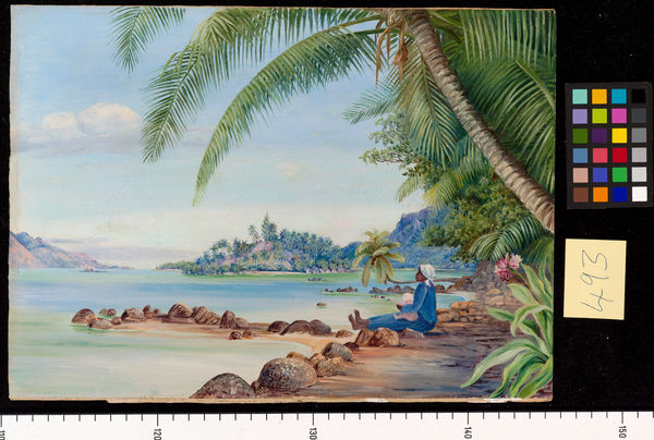 493. View of Round Island and a part of St. Anne's from Quaranti. © RBG KEW
