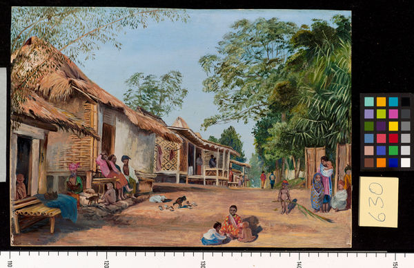630. village of Mat Houses, near Garoet, Java.. © RBG KEW