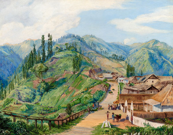 649. Village of Tosari, Java, 6000 feet above the level of the sea.. © RBG KEW