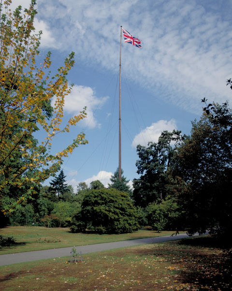 Flagpole at Kew. © RBG KEW