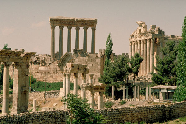 The historic ruins of Baalbek. © RBG KEW