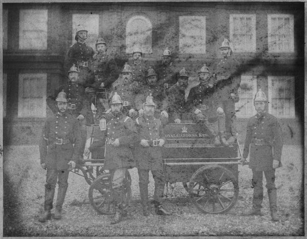 The Kew Fire Brigade. © RBG KEW