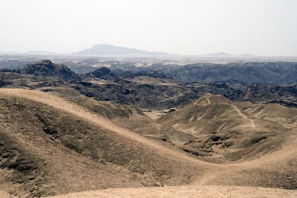 Moonscape east of Swakopmund. © RBG KEW
