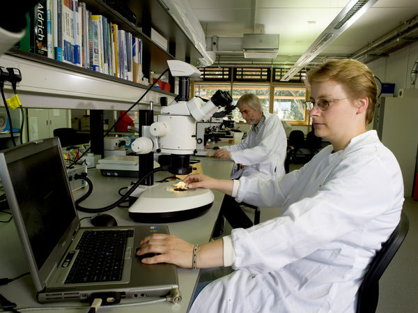 mycology_lab, Jodrell. © RBG KEW