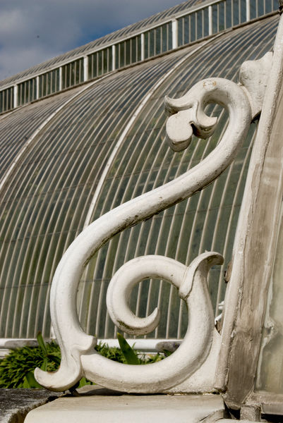 detail of Palm House. © RBG KEW