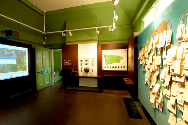 Restored Marianne North Gallery Interior. © RBG KEW