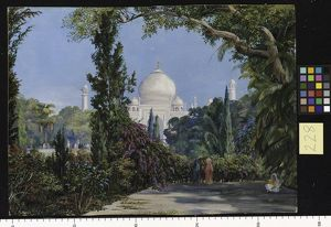 228. The Taj Mahal at Agra, North-West India.