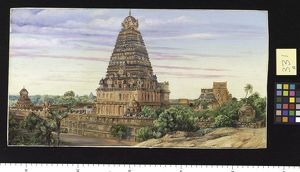331. Temple of Tanjore, Southern India.