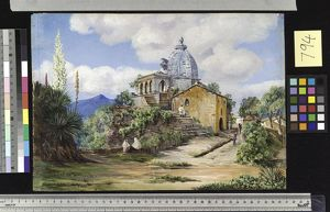 794. Temple at Almorah, Kumaon, North-west India.