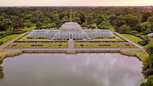 Aerial view of Palm House