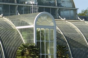 Close up of the Palm House Door