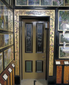 Doorway in the Marianne North Gallery