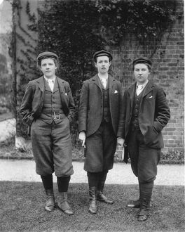 Eleanor Morland, Gertude Cope and Alice Hutchings, Kew gardeners, 1898