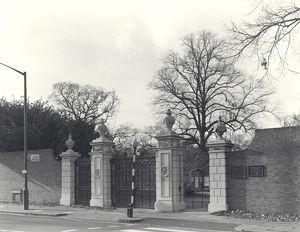 Grade II listed Victoria Gate