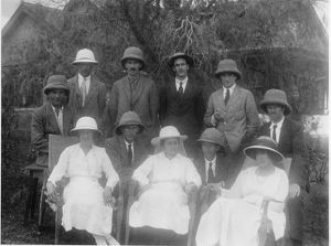 'Kewites and wives' Kampala, Uganda, 1923