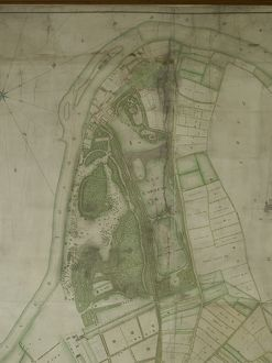 1771 Map of Kew Gardens