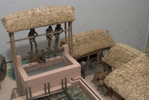 Model of Indigo Factory, 1886