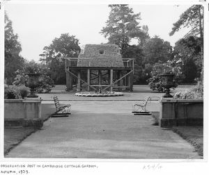 Observation post, RBG Kew, 1939