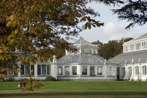 Temperate House, autumn,