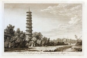 'A View of the Wilderness with the Alhambra, the Pagoda and the