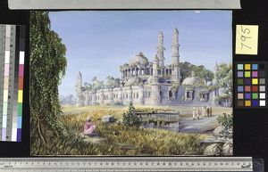 795. A Ruined Mosque at Champaneer