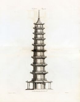 'The Great Pagoda', (exterior)