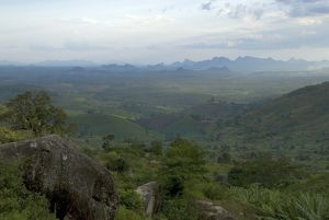 View over Mozambique